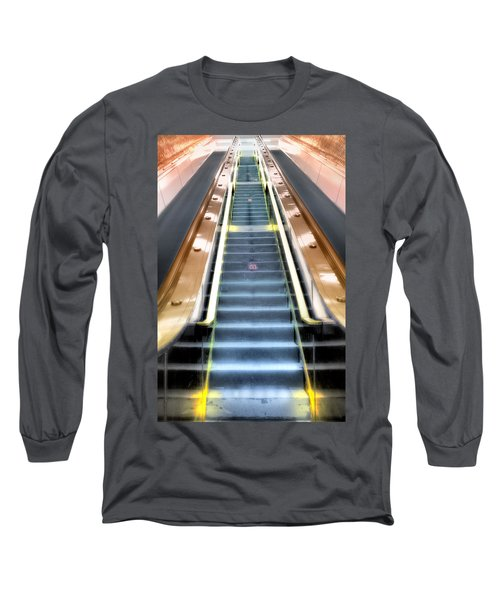 Escalator To Heaven Long Sleeve T-Shirt