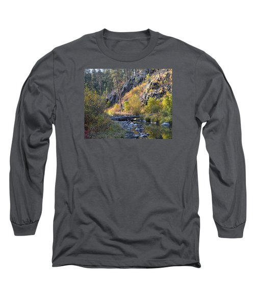 Evening Approaches Spring Creek Long Sleeve T-Shirt