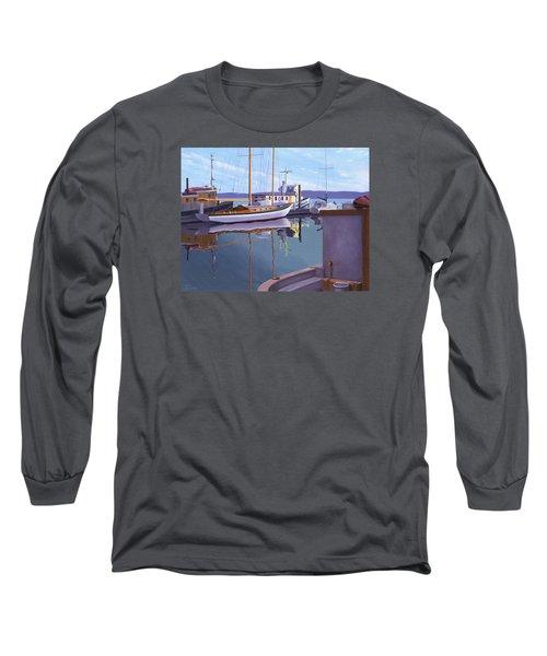 Evening On Malaspina Strait Long Sleeve T-Shirt