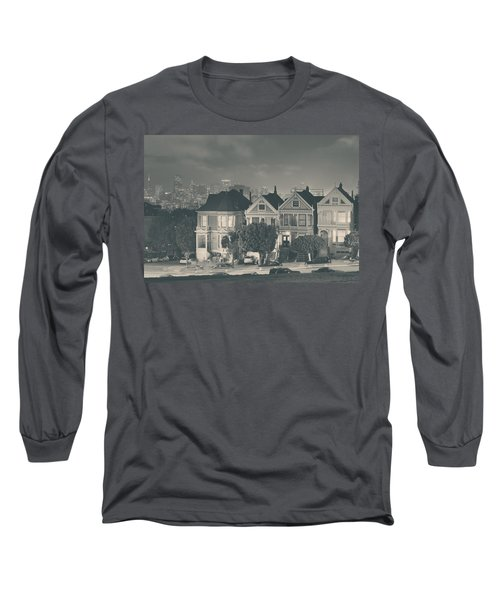 Long Sleeve T-Shirt featuring the photograph Evening Rendezvous by Laurie Search