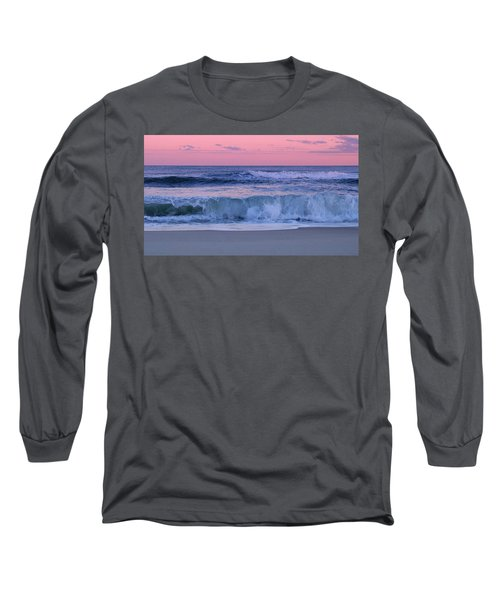 Evening Waves - Jersey Shore Long Sleeve T-Shirt