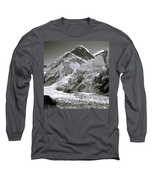 Everest Sunrise Long Sleeve T-Shirt by Shaun Higson