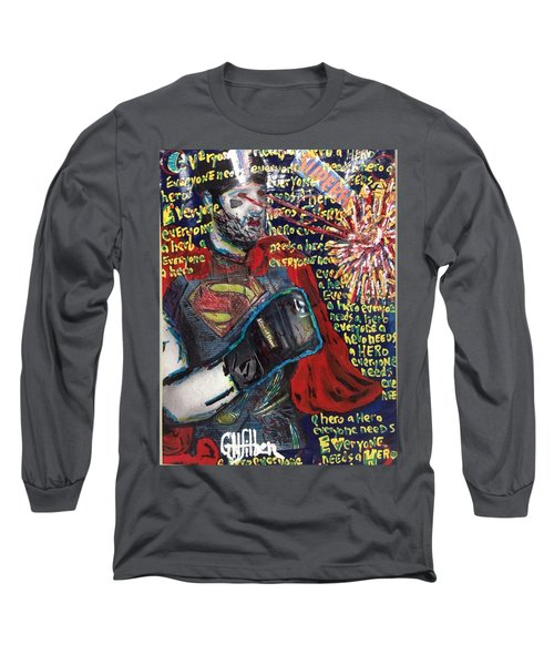 A Hero Long Sleeve T-Shirt