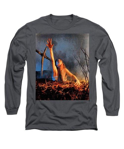 Evil Dead Long Sleeve T-Shirt by Joe Misrasi