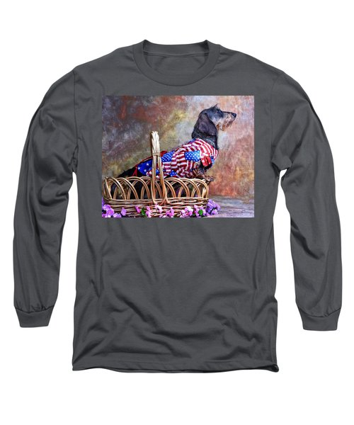 Long Sleeve T-Shirt featuring the photograph Evita by Jim Thompson