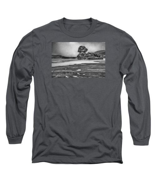 Exposed To Wind And Weather Long Sleeve T-Shirt by Hayato Matsumoto