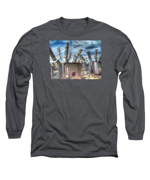 Long Sleeve T-Shirt featuring the photograph Exterminate - Exterminate by MJ Olsen