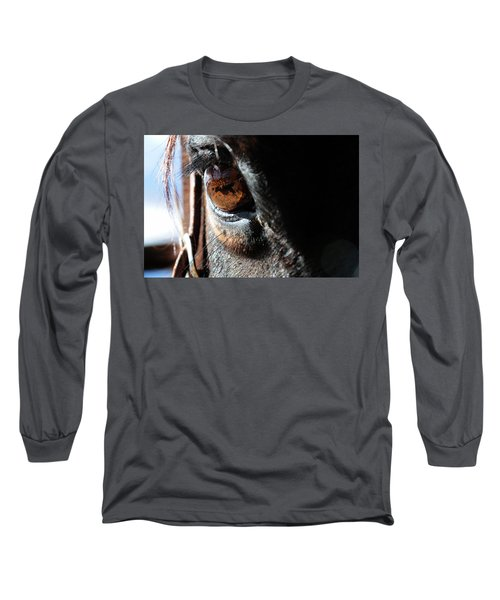 Eyeball Reflection Long Sleeve T-Shirt