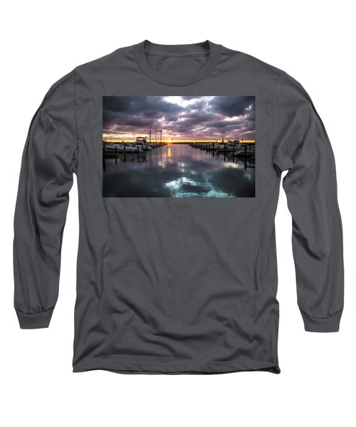 Face In The Water Long Sleeve T-Shirt