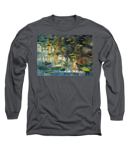 Faces In The Pond Long Sleeve T-Shirt