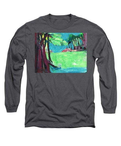 Fairway In Early Spring Long Sleeve T-Shirt