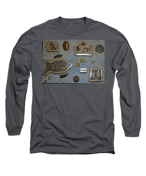 Faith Collage Long Sleeve T-Shirt