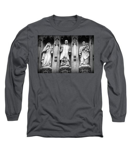 Faithful Witnesses -- Martin Luther King Jr Remembered With Bishop Romero And Duchess Elizabeth Long Sleeve T-Shirt by Stephen Stookey