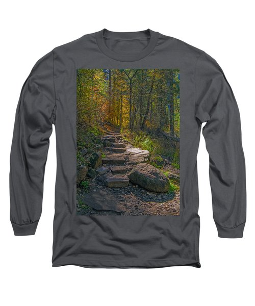 West Fork At Oak Creek Long Sleeve T-Shirt