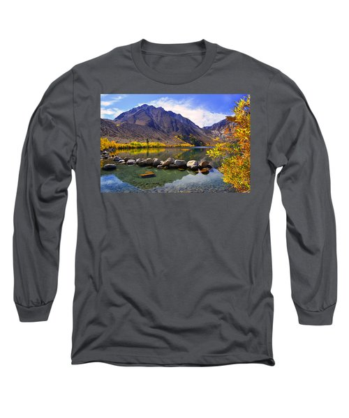 Fall Colors At Convict Lake  Long Sleeve T-Shirt