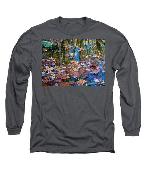 Fall Creek Long Sleeve T-Shirt by Pamela Clements
