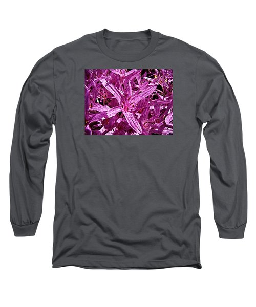 Long Sleeve T-Shirt featuring the photograph Fall Crocus by Nick Kloepping