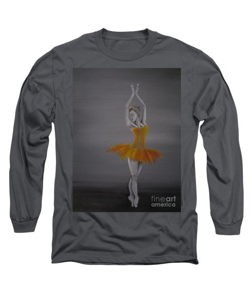 Fall Dancer 2 Long Sleeve T-Shirt by Laurianna Taylor