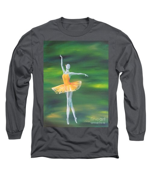 Fall Dancer 3 Long Sleeve T-Shirt by Laurianna Taylor