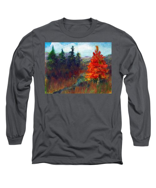 Fall Day Long Sleeve T-Shirt by C Sitton