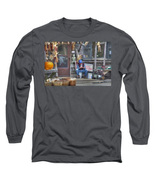 Fall Farmer's Market Long Sleeve T-Shirt