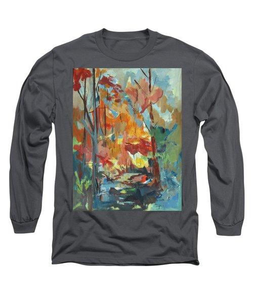 Fall From My Window Long Sleeve T-Shirt