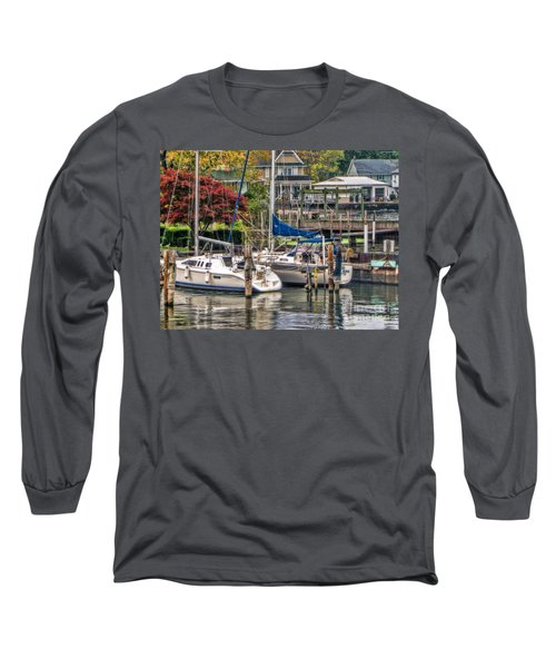Fall Memory Long Sleeve T-Shirt by Tammy Espino