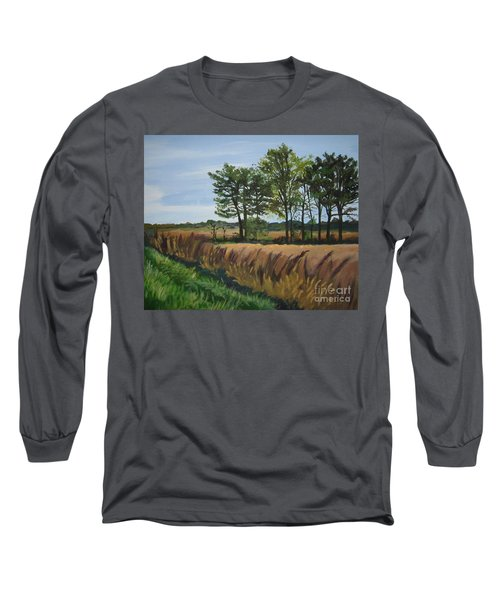 Fall On Douglas Road Long Sleeve T-Shirt