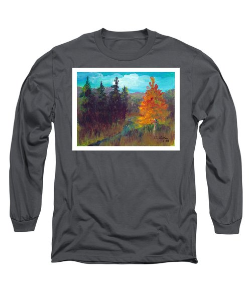 Fall View Long Sleeve T-Shirt by C Sitton
