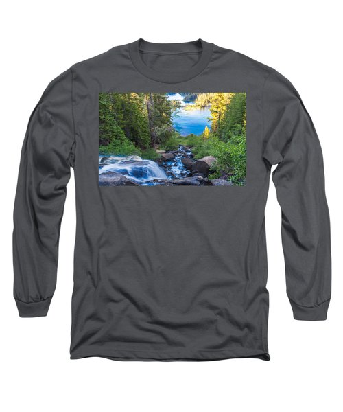Falling Down To The Lakes Long Sleeve T-Shirt