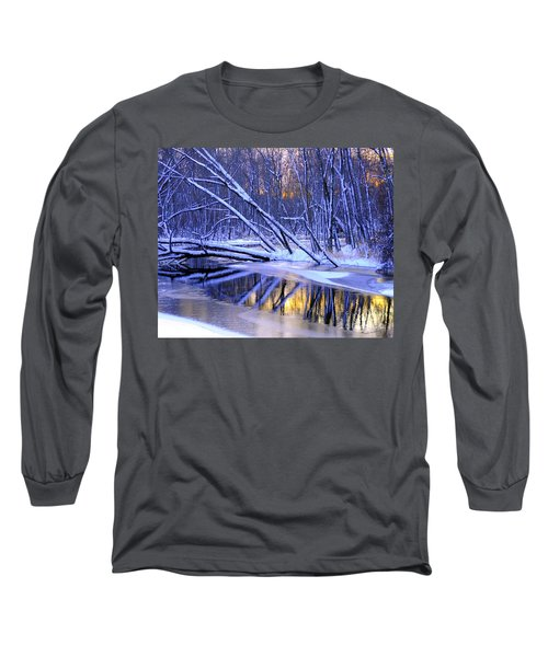 Long Sleeve T-Shirt featuring the photograph Falling by Terri Gostola