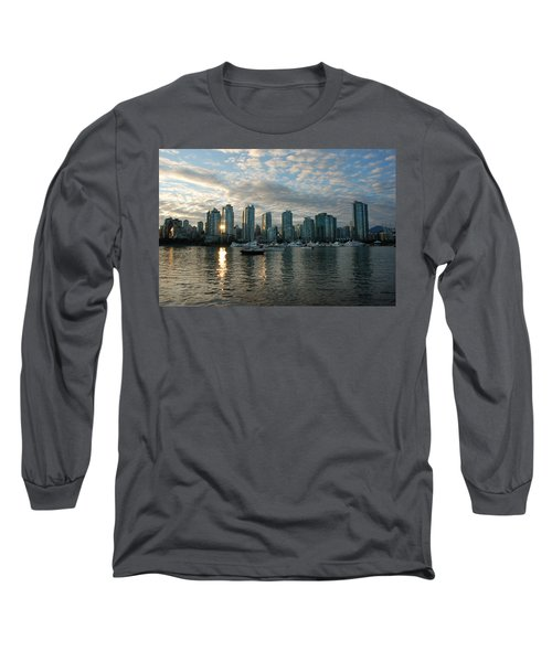 False Creek Sunset Long Sleeve T-Shirt