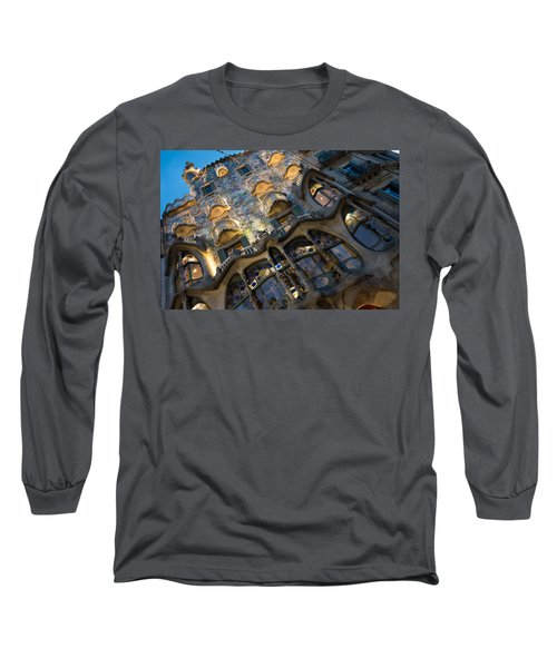 Fantastical Casa Batllo - Antoni Gaudi Barcelona Long Sleeve T-Shirt
