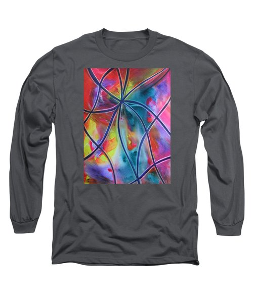Faux Stained Glass 1 Long Sleeve T-Shirt