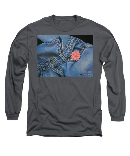 Favorite Jeans Long Sleeve T-Shirt by Pamela Clements