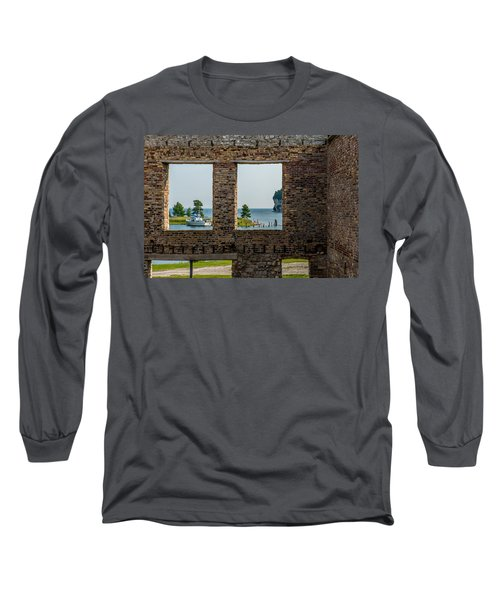 Fayette Ruins Long Sleeve T-Shirt by Paul Freidlund
