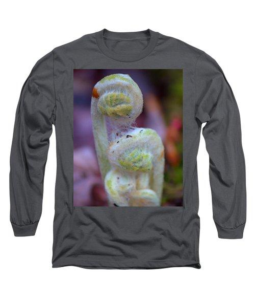 Fiddlehead Fern Long Sleeve T-Shirt