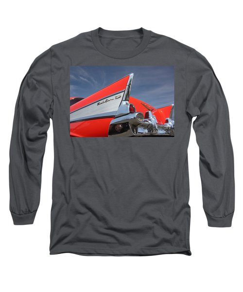 Fintastic '57 Chevy Long Sleeve T-Shirt