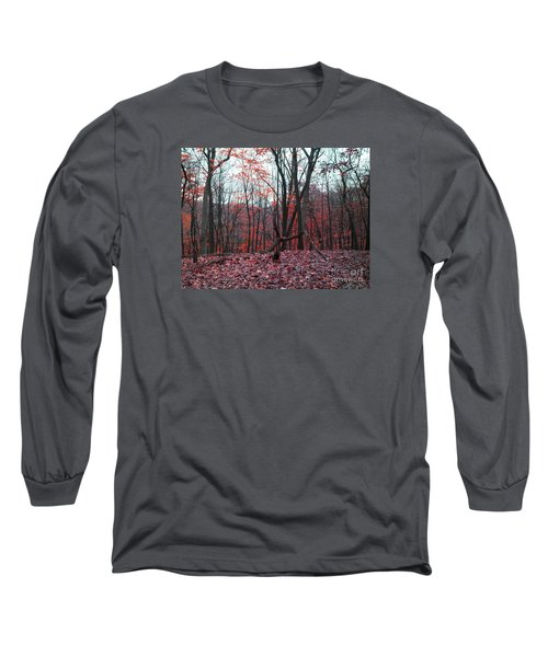 Fire In The Woodland Long Sleeve T-Shirt