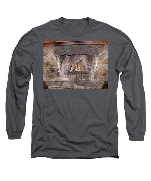 Fireplace Long Sleeve T-Shirt