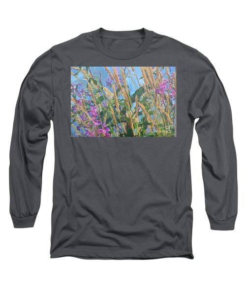 Long Sleeve T-Shirt featuring the photograph Fireweed Number Six by Brian Boyle
