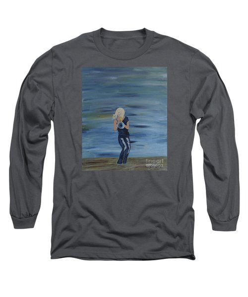 Firmly Grounded - Cindy Bradley Long Sleeve T-Shirt