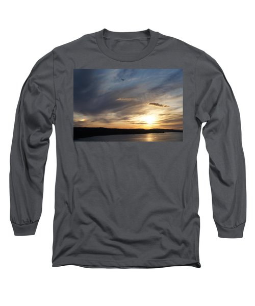 Firth Of Forth In The Sunset Long Sleeve T-Shirt