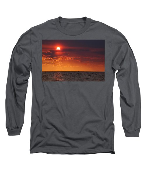 Fishing Till The Sun Goes Down Long Sleeve T-Shirt