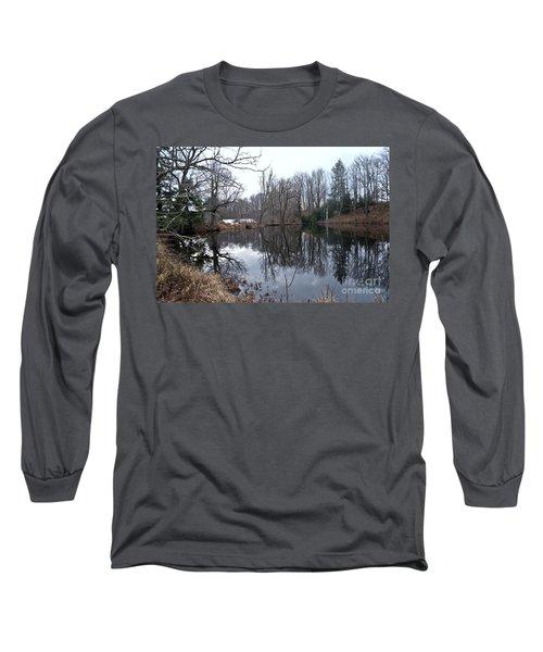 Fishing With Grandma Long Sleeve T-Shirt