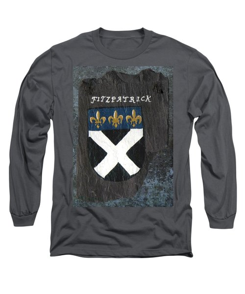 Long Sleeve T-Shirt featuring the painting Fitzpatrick by Barbara McDevitt