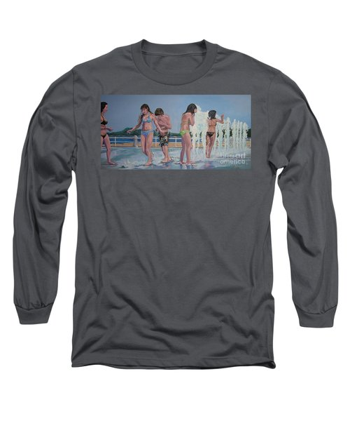 Five Fountain Friends Long Sleeve T-Shirt