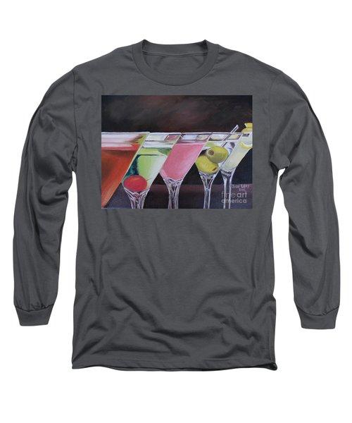 Five O'clock Long Sleeve T-Shirt by Julie Brugh Riffey