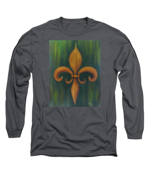 Fleur-de-lis Long Sleeve T-Shirt