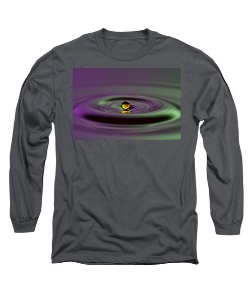 Floating On Water Long Sleeve T-Shirt